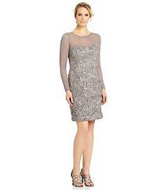Jessica Howard Soutache Lace Sheath Dress | Dillard's Mobile