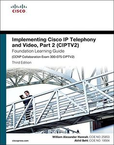 82 best featured products images on pinterest website book outlet implementing cisco ip telephony and video part 2 ciptv2 foundation learning guide fandeluxe Images