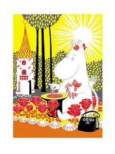 The Book about Moomin, Mymble and Little My - Tove Jansson Moomin Books, Moomin Shop, Illustration Noel, Tove Jansson, Square Art, Motif Floral, Little My, Illustrations Posters, The Book