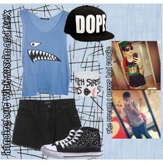 """""""Hanging out with austin and Alex"""" by niallersprincess1327 on Polyvore"""