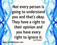 Truth Follower: Every Right to ignore