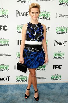 Actress Reese Witherspoon attends the 2014 Film Independent Spirit Awards