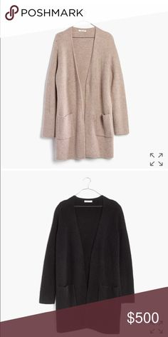 ISO MADEWELL BACKSTAGE CARDIGAN XS Looking for black! New or excellent condition!!! Please let me know if you see one or are selling! Madewell Sweaters Cardigans