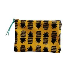 Falconwright: Wallet Pouch Yellow Pineapples