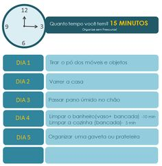 Tarefas de 15 minutos