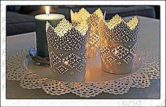Candle lantern IKEA skurar