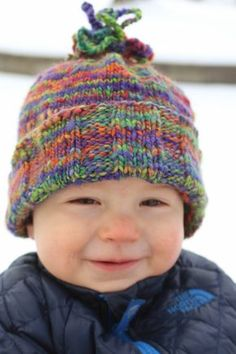 I knew that this superwash BFL yarn would be perfect for a baby hat for  Lucky. maryalice rosewilfong · KNIT PATTERNS 2101fbcff7b7