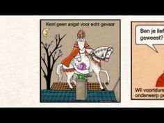 Strip: Autistische Sinterklaas - YouTube