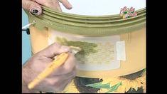 Manualidades Van Gogh-Envase plástico con decoupage (2ª parte)