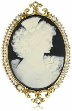 Antiquities Couture Goddess of Beauty Cameo Brooch Antiquities Couture. $66.99. Features goddess of beauty. Made in USA. Made in the U.S.A