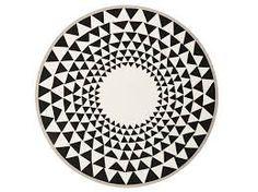 tapete redondo geometrico - Pesquisa Google