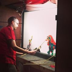 [BLOG] Behind the Scenes: Chinese Shadow Puppet Theatre | The Children's Museum of Indianapolis