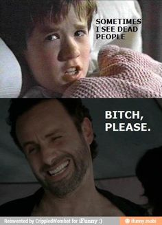 Rick sees lots of dead people