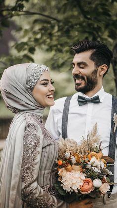 # Hijab Hijab Tunic Models 2020 # Hijab the Hij Tesettür Makyajı Modelleri 2020 Muslimah Wedding, Wedding Hijab, Cute Muslim Couples, Muslim Girls, Muslim Wedding Dresses, Hijab Dress, Mode Hijab, Wedding Couples, Hijab Fashion