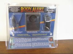 BODY ALERT, PERSONAL SECURITY ALARM by Excalibur. $10.09. This was designed to give you safe peach of mind and security you need in our ever increasing society. The Body Alert Personal Security Alarm is the safest, most effective way to escape threatening situations and attract attention to yourself and the attacker, a criminals worst nightmare! Designed especially for Apartment Dwellers, Singles Living Alone, Joggers, Hikers, Bicyclists, Business Travelers and College ...