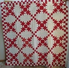 Antique quilt by Amelia Mitchell Stephens, 1865-1962 (Nova Scotia) - posted by her granddaughter, Joanne