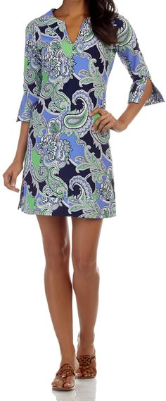 646e571ccab Megan Dress in Paisley Maxi Navy Resort Wear, Spring Collection, Paisley,  Fashion Dresses