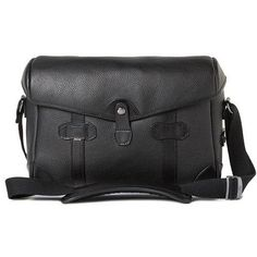 33a57e02cd Barber Shop Pageboy Messenger Camera Bag Small Grained Black Leather -- To  view further for this item