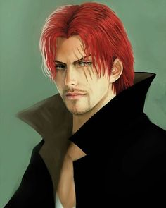 realistic Fanart of Shanks- One Piece