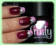 """Nail art french noeud + cabochon"""" data-componentType=""""MODAL_PIN"""