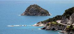 L'isola di Bergeggi, area marina protetta