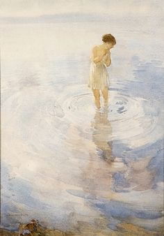 William Russell Flint  sunlit shadows