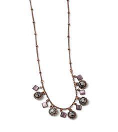 Demure Necklace by lia sophia.