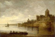 Jan van Goyen - Het kasteel bij Nijmegen (1596-1659)