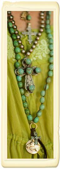 ♥.  COLOR!!! ...#EvolvingFashion #JewelryLayering #NecklaceLayering http://evolvingfashion-hair-nails-clothing.blogspot.com/
