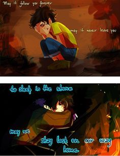 :'(( Nico <3 and Leo <3 :'( ~art by viria