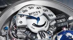 Bovet Recital 18 - time display CU