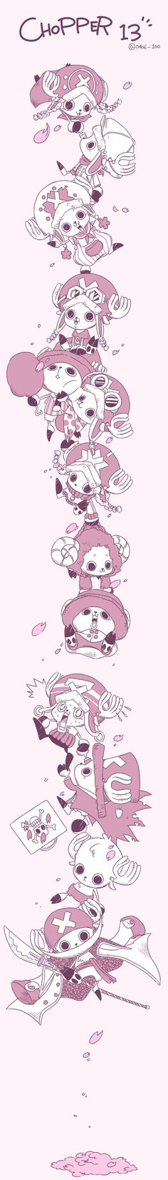 TonyTony Chopper. Cutest character ever!!