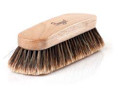 Wiener Rosshaarbürste von Burgol auf SHOEPASSION.com Ein Exclusiv-Produkt von Burgol Schuhpflege
