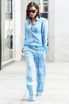 Victoria Beckham Just Wore Her Pyjamas to Work, and We're Into It via @WhoWhatWearUK