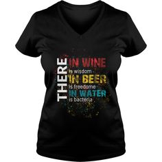 Drinking  There in wine is wisdom in beer is freedome in water is bacteria