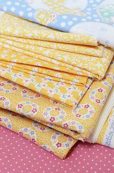 Vintage Block Quilt Along - Fabrics