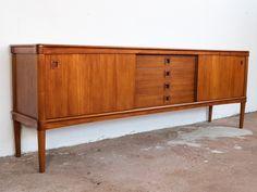 sideboard in teak by HW Klein for Bramin