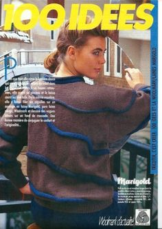 Fiche tricot : Le pull ' vagues en relief ' Knitting Books, Relief, Magazine, Couture, Pull, Free Pattern, Catalog, Crochet, Blog
