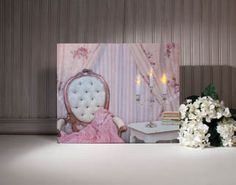 Radiance Lighted Canvas Romantic Chandelier | Decoration and Craft