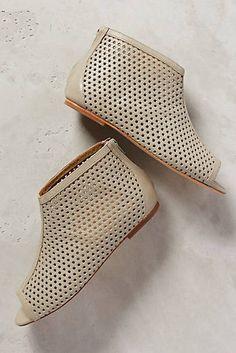 Nina Payne Hero Perforated Booties