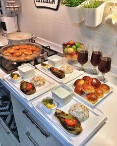 Vorspeisenrezepte – Köstliche Vorspeisenrezepte - My CMS Food Menu, A Food, Food And Drink, Iftar, Yummy Appetizers, Appetizer Recipes, Cooking Recipes, Healthy Recipes, Amish Recipes