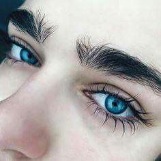 รูปภาพ eyes, blue, and boy