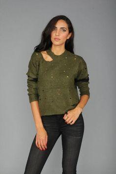 0723f78f729 Distressed Knit Sweater. Cool SweatersWinter SweatersSweaters For WomenCardigansNew  DressSweater CardiganSweater DressesKnittingClothes ...