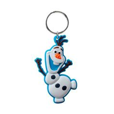 Everyone's favorite snowman is back in keychain form.  Check out Olaf on this great soft rubber keychain.  Whether you are a fan of Elsa, Anna, Olaf or Kristoff you have come to the right place to get all of your Frozen party supplies.  We have a great selection of everything you need from decorations to gifts to make your Frozen party one that your kids won't soon forget.  So check out all of our great Frozen items while they are still available.