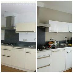 www.keukensplakken.nl #wrapping #kitchens
