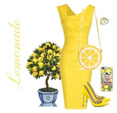 """Lemonade"" by julie-lg ❤ liked on Polyvore featuring Casetify, TaylorSays and Olivia Leone"