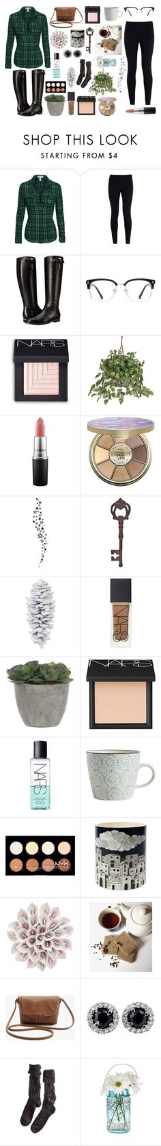 """~ Trees ~"" by artamus on Polyvore featuring NIKE, Burberry, GlassesUSA, NARS Cosmetics, MAC Cosmetics, tarte, True Fabrications, Coach House, Lux-Art Silks and Nordal"