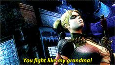 Nightwing and Harley Quinn GIF Typical Nightwing XD Nightwing Young Justice, Timothy Drake, First Robin, The Big Band Theory, Richard Grayson, Harely Quinn, Al Ghul, Joker And Harley, The Fault In Our Stars