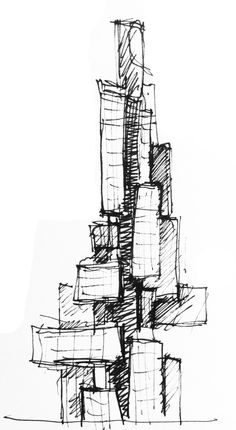 Sketch by Scoly01 http://www.behance.net/gallery/Architectural-Sketches-part-1/3214485