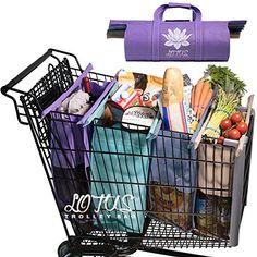 Lotus Trolley Bags -w/ LRG COOLER Bag & Egg/Wine holder! ...